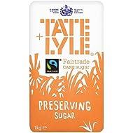 Tate & Lyle Fairtrade Preservación De 1 Kg De Azúcar (Paquete de 6)