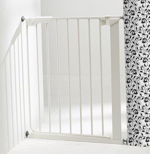 Baby Dan Tür und Treppenschutzgitter Slim Fit: für schmale Öffnungen, 63 – 69.5 cm, Farbe: Weiß - 2