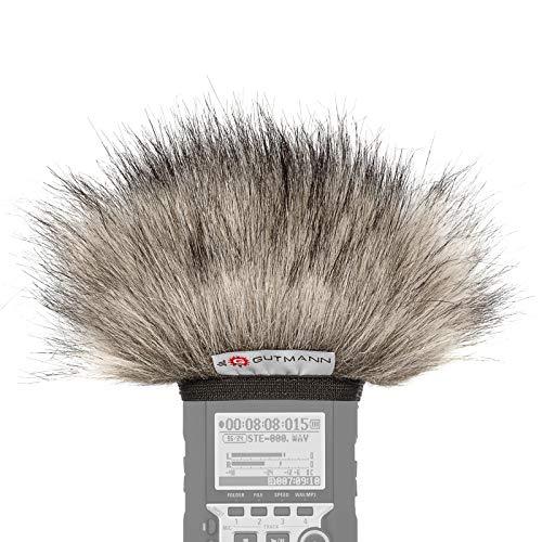 Gutmann Mikrofon Windschutz für Olympus LS-14 Premium Edition Lynx mit Innenfutter
