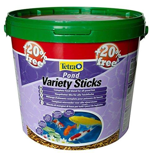 Alimentation Tetra Pond Variety Sticks Contenance 10 litres + 20%