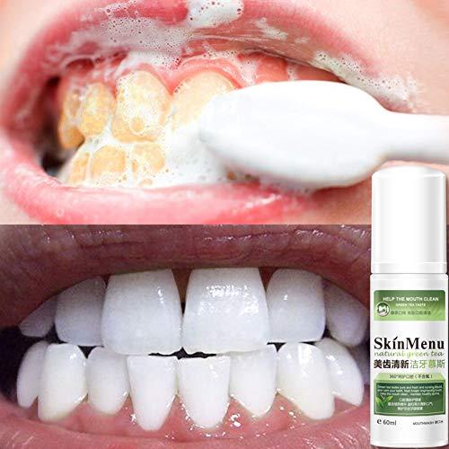 Bobora Zahnpasta Whitening Foam Zahnpasta Entfernen Sie Zahnflecken Plaque Reinigung Zahnaufhellung Mundhygiene Schaum Zahnpasta - Pfefferminze Whitening Zahnpasta