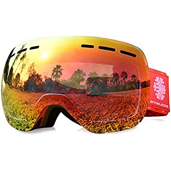 412f51686e39 Snowledge Ski Goggles-Snowboard Ski Goggles Skiing Goggles with Anti ...