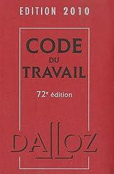 Code du travail 2010 (1Cédérom)