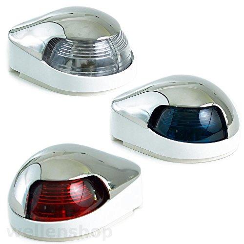 2.5W LED Navigationslichter Positionslicht Positionsleuchte Boot Yacht 360° Weiß
