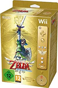 The Legend of Zelda : Skyward Sword + Manette Wii Plus dorée - édition limitée