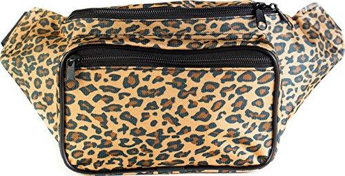 SoJourner Bags riñonera uno tamaño Leopardo Cazador