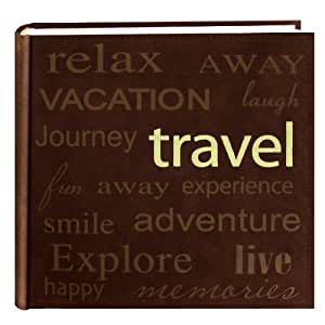 New Pioneer Travel >> Pioneer Travel Text Design Sewn Faux Suede Cover Photo
