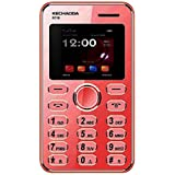 Kechaoda K116 1.44 Inch QQVGA Display Slim Card Size GSM Single SIM Keypad Mobile (Corel Pink) (Only Mobile Phone & Charging Cable In Box, NO CHARGER OR EARPHONE)