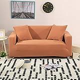 Funda elástica para sofá Color sólido Engrosamiento,Punto Protector para sofás Funda de sofá...