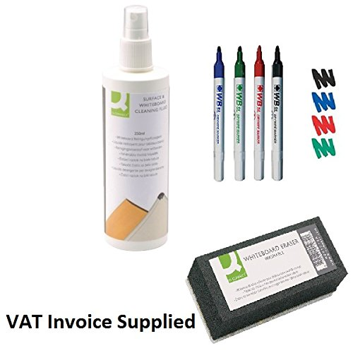 white-board-cleaning-and-accessory-starter-kit-4-x-pens-1-x-cleaning-spray-1-x-rubber