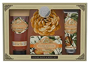 AAA Floral Orange Blossom Pamper Collection Gift Set