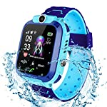 Bhdlovely Kinder SmartWatch Digital Camera Watch with Games, SOS and 1.44 inch Touch LCD for Boys Girls Birthday