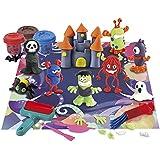 PlayGo - Set plastilina para moldear monstruos (ColorBaby 44325)
