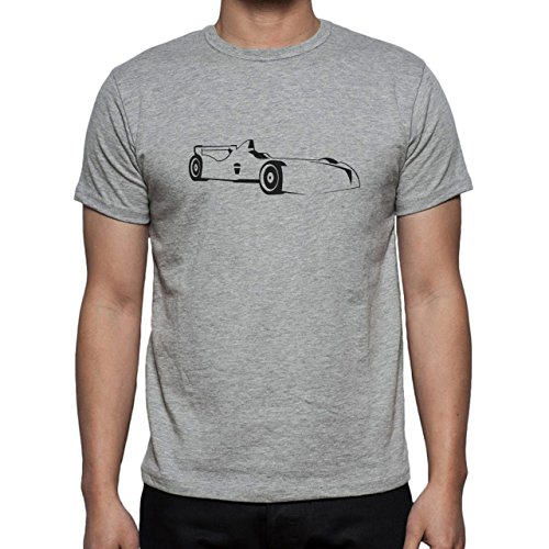 Car Vehicle Four Wheels Auto F1 Herren T-Shirt Grau