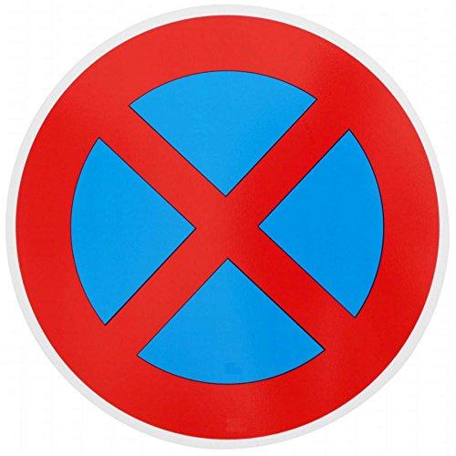 ORIGINAL Verkehrszeichen HALTVERBOT Nr. 283-50 Verkehrsschild Schild Strassenschild Parkverbot StVO Verbotsschild für Parken Straßenzeichen Verbotschild Halteverbot für Parkplatz Schilder mit RAL Gütezeichen