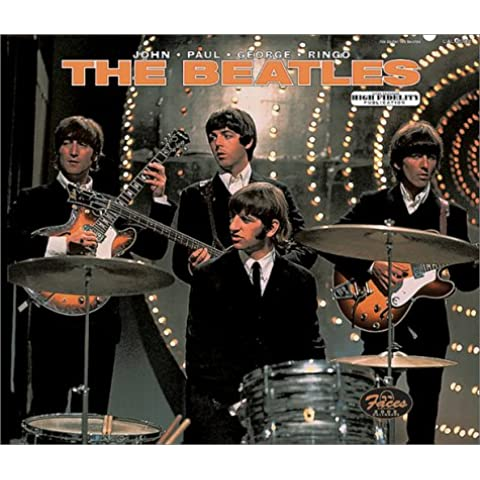 The Beatles : 2002 Deleuxe Wall Calendar - Beatles Faces
