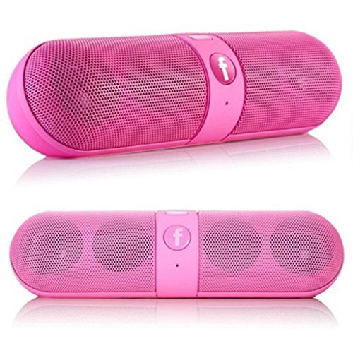 Mobile Link Sony Xperia Z1 Compact Compatible Mini Bluetooth Multimedia Speaker Wireless Speaker (PINK) System With SD Card/Pen Drive (Capsule)  available at amazon for Rs.799