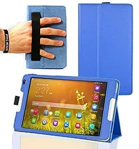 Navitech housse étui pour Huawei MediaPad M1 8.0 tablette tactile (bleu)