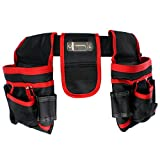 SPARES2GO 20 Pocket Double Tool Belt Heavy Duty - Best Reviews Guide