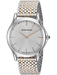 2db840b8d951 Emporio Armani Swiss Made Unisex ars2007 pantalla analógica Swiss Quartz  Rose Gold-tone reloj
