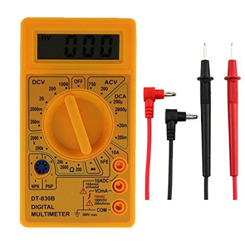 dt-830b Mini Typ Multifunktionelles Handheld Digital Multimeter Gelb gelb