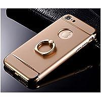 MQMY telefono caso iphone7 case cover per iPhone7 leggero sottile durevole satinato liscia placcatura PC anello