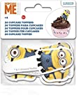 Boyztoys 24 topper per Cupcake, in carta, motivo: Minion