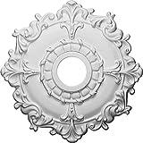 Ekena Millwork CM18RL 18-Inch OD x 3 1/2-Inch ID x 1 1/2-Inch Riley Ceiling Medallion by Ekena Millwork