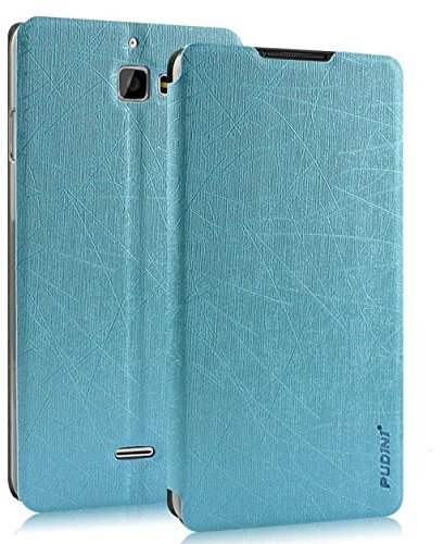 Febelo Pudini Perfect Fitting Flip Case Cover for Micromax Canvas Nitro A311 / A310 / Coolpad Dazen 1 - Sky Blue  available at amazon for Rs.399