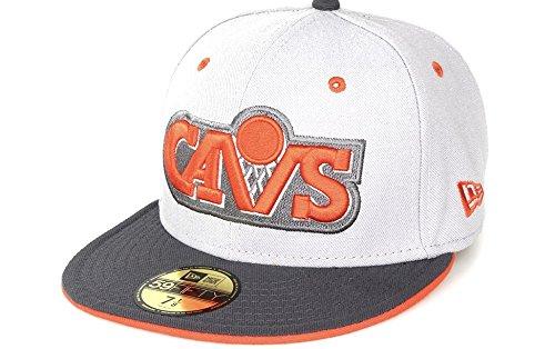 A NEW ERA Cleveland Cavaliers Gorra de Fitted de 59fifty de gris de hombre 57a3ff1c380