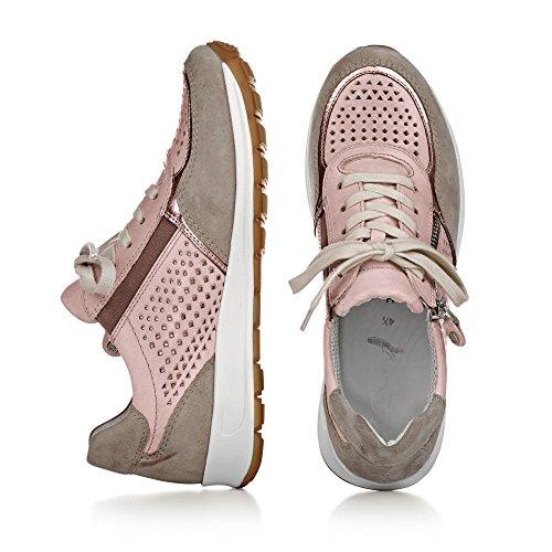 Ara 12-34556 Osaka femme Sneaker FOSSIL,ROSEGOLD/ROSE