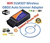 Best Professionnels du logiciel de code à barres - ELM327 WiFi OBD2 / OBDII Diagnosis for Car Review