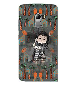 PrintDhaba Cartoon D-3677 Back Case Cover for LENOVO VIBE K4 NOTE (Multi-Coloured)