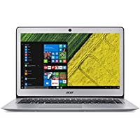 "Acer Swift SF314-51-39ZJ Portatile, Ultrabook, 14"", Intel core i3, 4 GB RAM, SSD 128 GB, Intel HD Graphics 520, Windows 10, Argento [Francia]"