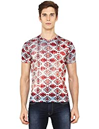 VOI Jeans Men's Printed Regular Fit T-Shirt