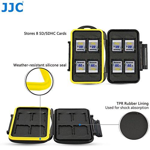 Sd Card Jjc Memory (Profoto.Trend/JJC Multi Memory Card Case MC-SD8 Stark und Starr Speicherkarten Schutzbox für 8 x SD Karten)