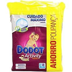 Dodot - Activity Toallitas - 4 paquetes 216 toallitas - Pack de 3 (Total 648 toallitas)