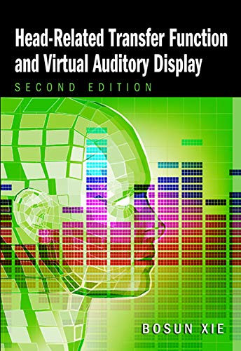 Head-related Transfer Function and Virtual Auditory Display (Title in J. Ross Publishing's Acoustic) -