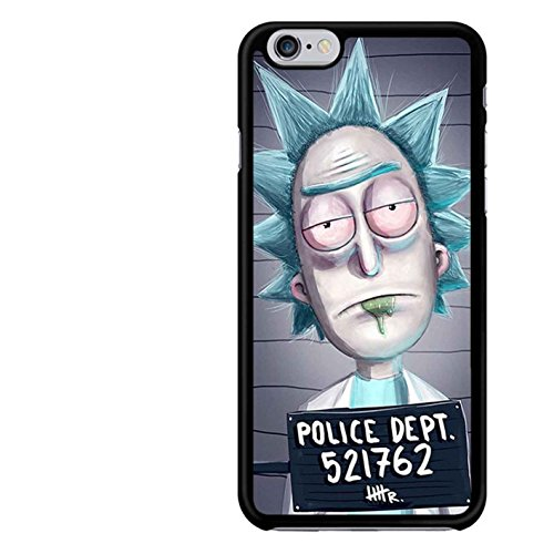 Rick And Morty Fan Art Phone Case funda iPhone 5 and 5S