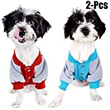 Abbigliamento per cani,Legendog Alta qualità 2 pezzi Primavera e Autunno Cappotti Dog Cute Cartoon Cappotto Felpa Felpe Felpe Cappotto per piccoli e medi cani