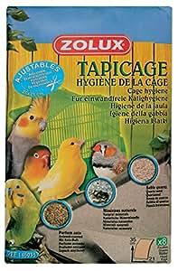Zolux Tapicage Hygiène de la Cage pour Oiseau Taille S