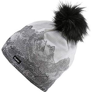 Eisbär Damen Draw Lux Crystal Mütze