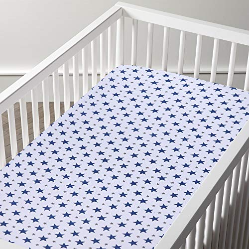 haus-kinder-Twinkle-Collection-100-Cotton-Muslin-Gift-Set-for-New-Born-3-Swaddles-5-WashCloths-1-Crib-Bedsheet