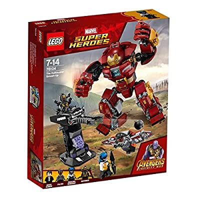 LEGO 76104 Marvel Super Heroes Avengers Infinity War The Hulkbuster Smash-Up