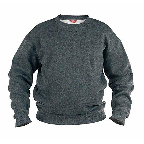 Duke Herren Rockford Kingsize Sweat Pullover (6XL) (Grau)