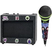 Los Descendientes - Altavoz portátil con micrófono (Lexibook K900TD)
