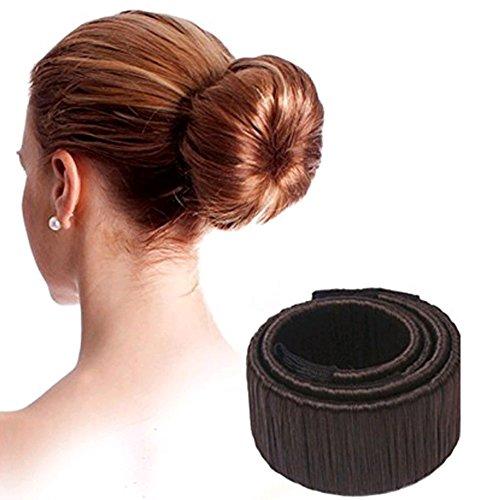 Da.Wa Mode Frisur Damen Fashion Haarstyling Tool Donut Hair Bun Maker Fashion Haare Dutt Styling Werkzeug-Brautfrisur Brautschmuck Haarknoten Frisurenhilfe Haarzopf - Perfekt für lange Haare,set of