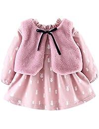 54428ee1b28f Amazon.co.uk  3-6 Months - Coats   Jackets   Baby Girls 0-24m  Clothing