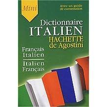 Mini-Dictionnaire Français/Italien Italien/Français(Guide de conversation inclus)