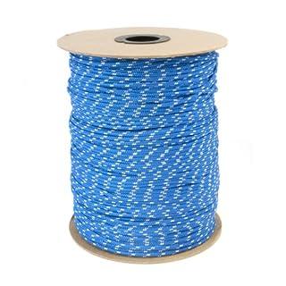 20m POLYPROPYLENSEIL 3mm BLAU Polypropylen Seil Tauwerk PP Flechtleine Textilseil Reepschnur Leine Schnur Festmacher Rope Kunststoffseil Polyseil geflochten